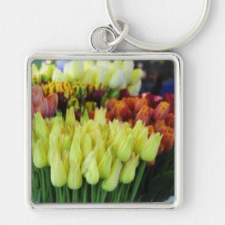 Yellow Tulips-Street Market Keychain