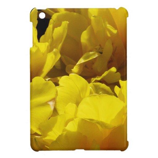 Yellow Tulips Through Sunbeams iPad Mini Cases