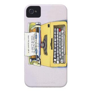 Yellow Typewriter Case-Mate iPhone 4 Case