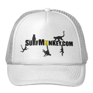 "Yellow ""U"" in Hanging Munkeys design Trucker Hat"