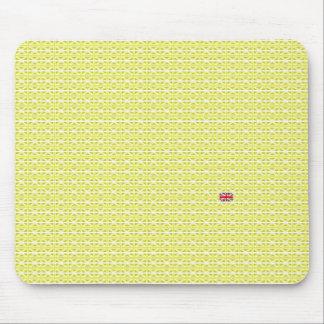 Yellow UK Union Jacks & odd one Mousepads
