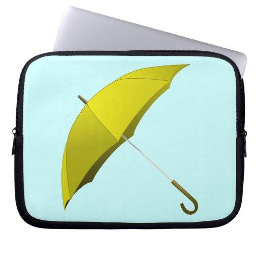 Yellow Umbrella Hong Kong Pro-Democracy Movement Laptop Sleeves