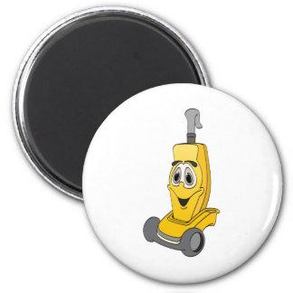 Yellow Vacuum Cleaner Magnet
