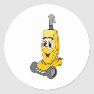 Yellow Vacuum Cleaner Stickers