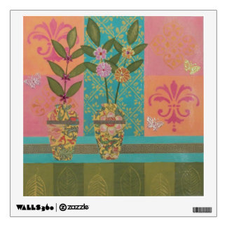 Yellow Vases Still Life Wall Decal