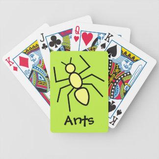 Yellow Vector Ant (Grass Green Background) Card Decks