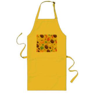 Yellow Vegetables Fruit Kitchen Apron