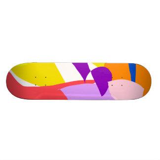 Yellow Vehicle Future Tree Fruit Purpose Skate Board Decks