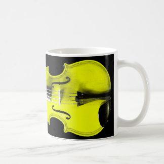 Yellow Violin / Viola Mug