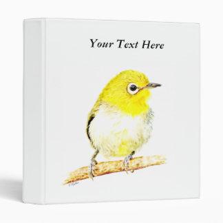 Yellow Viro Vinyl Binder