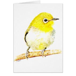 Yellow Viro Greeting Cards