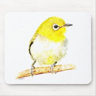 Yellow Viro Mouse Pad
