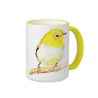 Yellow Viro Ringer Coffee Mug
