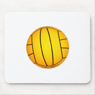 Yellow Volleyball Mouse Pad