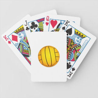 Yellow Volleyball Card Deck