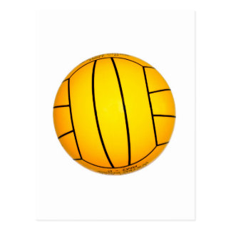 Yellow Volleyball Postcard
