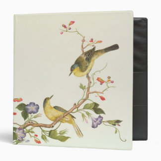 Yellow Wagtail with blue head Binder