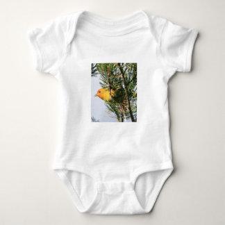 Yellow Warbler Baby Bodysuit
