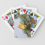 Yellow Warbler Bicycle Poker Cards