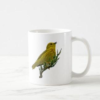 Yellow Warbler Coffee Cup Mug
