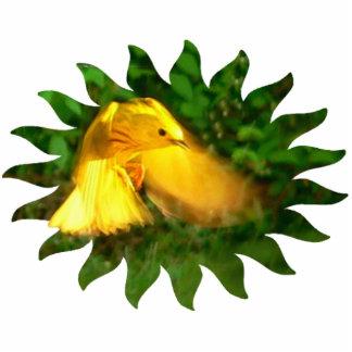 Yellow Warbler Cutout