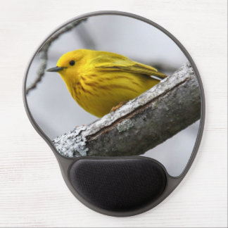 Yellow Warbler Gel Mouse Pad