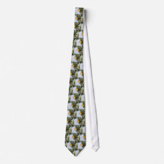 Yellow Warbler Neck Tie