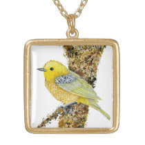Yellow Warbler Tilly Necklace