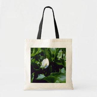 Yellow Water-Arum (Calla Palustris Var. Polysthace Budget Tote Bag