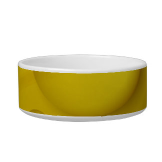Yellow Water Drop Background Bowl