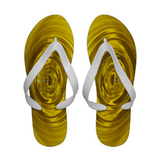 Yellow Water Drop Sandals