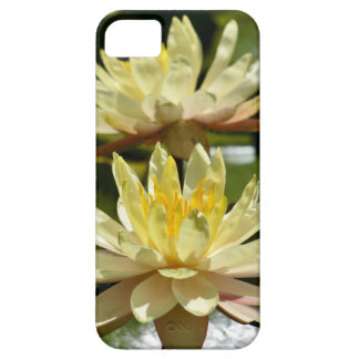 Yellow water lilies iPhone SE/5/5s case