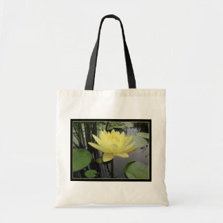 Yellow Water Lily Bag