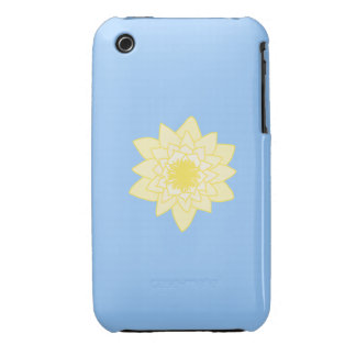Yellow Water Lily iPhone 3 Case-Mate Cases