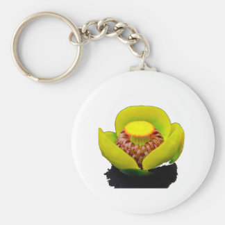 Yellow Water Lily Key Chains