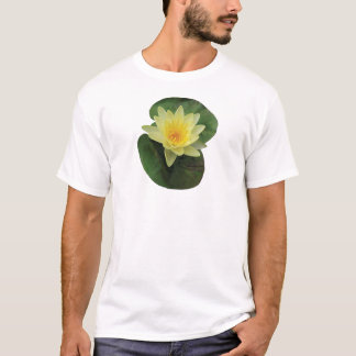 Yellow Water Lily Mens T-Shirt