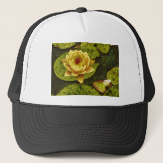 Yellow Water Lily Trucker Hat