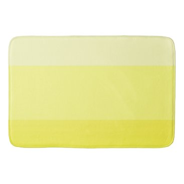 Beach Themed Yellow Watercolor Gradient 0277 Bathroom Mat