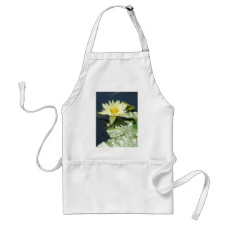 Yellow waterlily adult apron