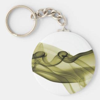 Yellow Wave Keychain