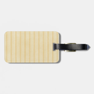 Yellow Weave Pattern Tags For Luggage