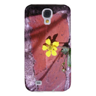 Yellow Weed flower Galaxy S4 Cover