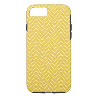 Yellow White Chevron Pattern 2A iPhone 8/7 Case