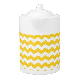 yellow  white chevrons