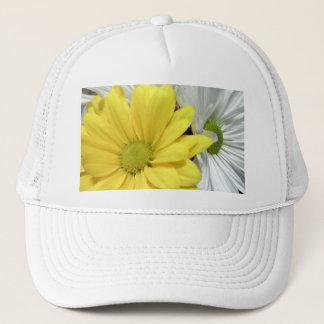 Yellow White Daisy Daisies Flower Flowers Photo Trucker Hat