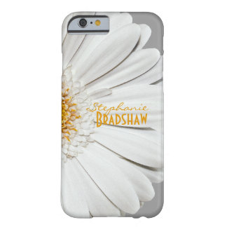 Yellow White Gerbera Daisy Barely There iPhone 6 Case