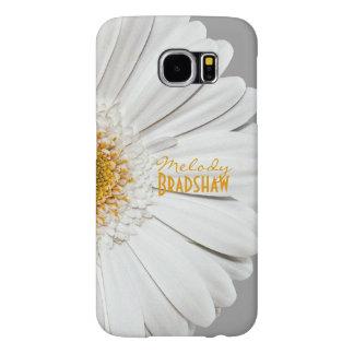 Yellow White Gerbera Daisy Galaxy SIII Case