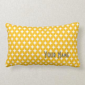 Yellow White Star Pillow Throw Pillows