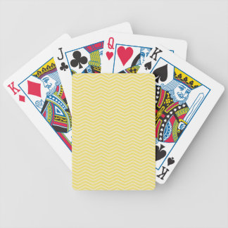Yellow White Thin Bicycle® Poker Playing Cards
