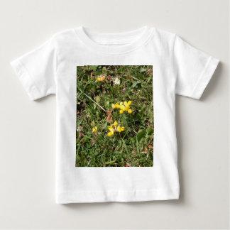 Yellow Wild Flower Baby T-Shirt
